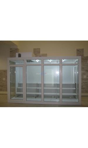 Холодильная камера POLAIR со стеклопакетом КХН-2,94 СТ.